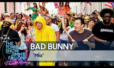 Bad Bunny Mia The Tonight Show Desde Puerto Rico 2019