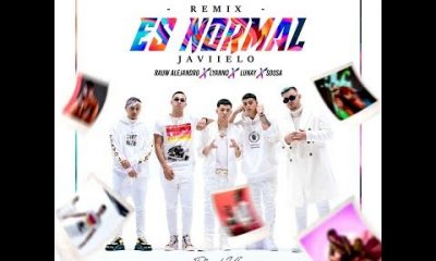 Javiielo Ft. Lunay Sousa Lyanno Rauw Alejandro – Es Normal Remix Official Video