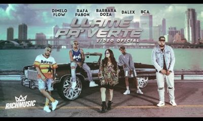 Dimelo Flow Ft. Dalex Rafa Pabon BCA Y Barbara Doza Llame Pa Verte Official Video