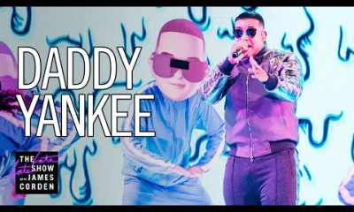 Daddy Yankee hace historia en el programa The Late Late Show with James Corden Video