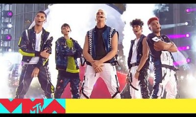 CNCO impresiona al interpretar De Cero en Premios MTV VMA 2019 Video