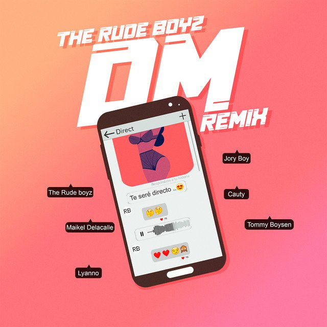 The Rudeboyz, Lyanno, Maikel Delacalle, Jory Boy, Tommy Boysen & Cauty - DM (Remix)