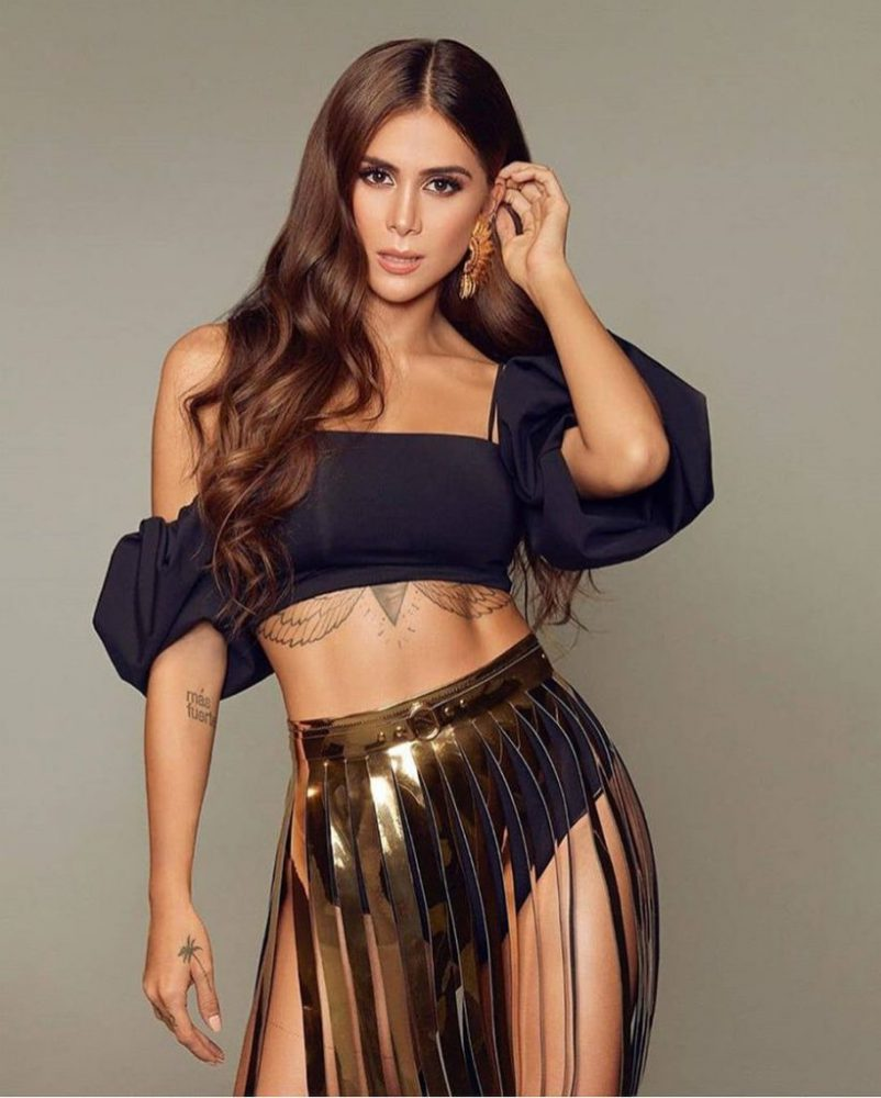 Greeicy recibió premio en los Latinos Show Awards 2019