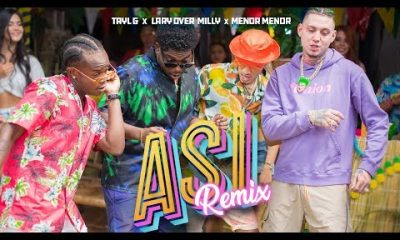 Tayl G Lary Over Milly y Menor Menor Asi Remix Official Video