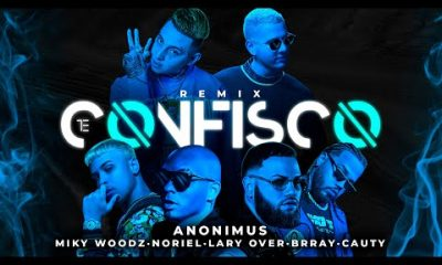 Anonimus Miky Woodz Lary Over Brray Cauty Y Noriel Te Confisco Remix Official Video