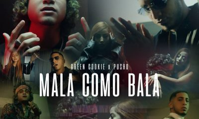 Green Cookie supera 1 millon de views en YouTube con Mala Como Bala junto a Pusho scaled