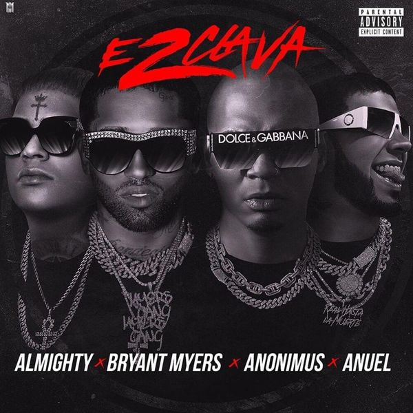 Bryant Myers, Anonimus, Anuel & Almighty - Esclava 2
