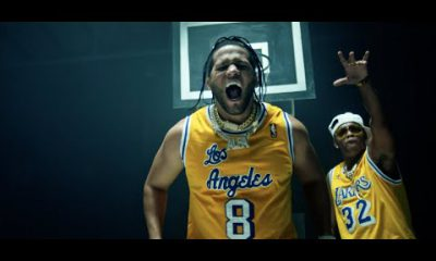 El Alfa Nicky Jam Ozuna Arcangel y Secreto A Correr Los Lakers Remix Official Video