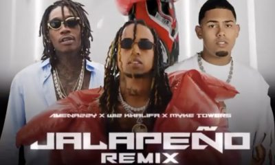 Amenazzy entrega una incomparable colaboracion junto a Wiz Khalifa y Myke Towers Jalapeno Remix