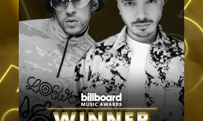 J Balvin gana premio a Mejor Album Latino con Oasis junto a Bad Bunny durante los Billboard Music Awards 2020