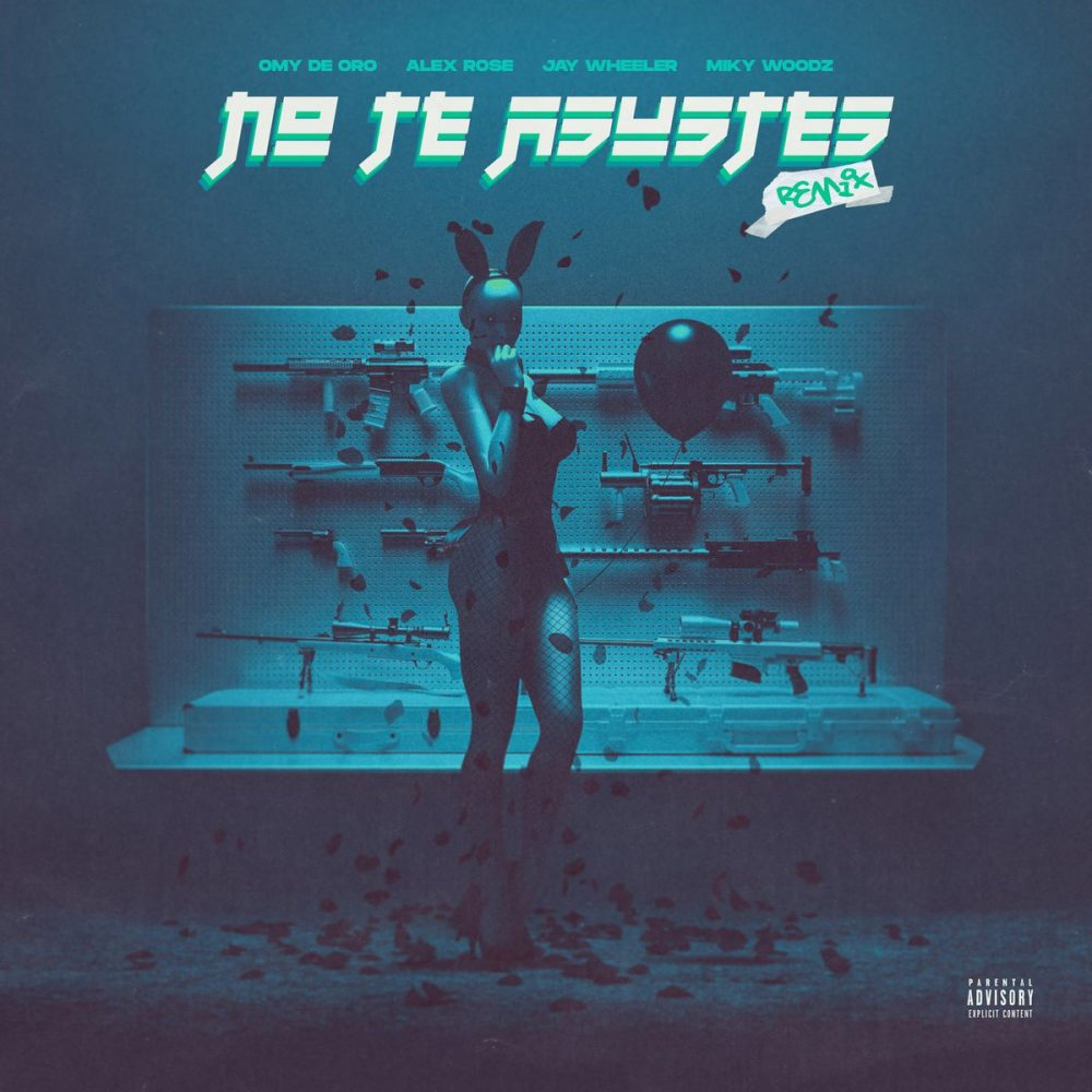 Omy De Oro, Alex Rose, Jay Wheeler & Miky Woodz - No Te Asustes (Remix)