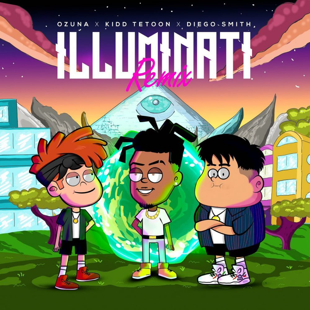 Kidd Tetoon, Diego Smith & Ozuna - Illuminati (Remix)