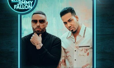 Nicky Jam y Romeo Santos llevan el sabor latino a The Tonight Show starring Jimmy Fallon