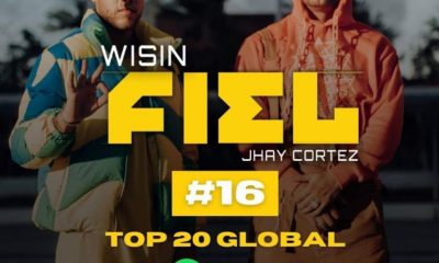 Wisin y Jhay Cortez sigue en ascenso con Fiel